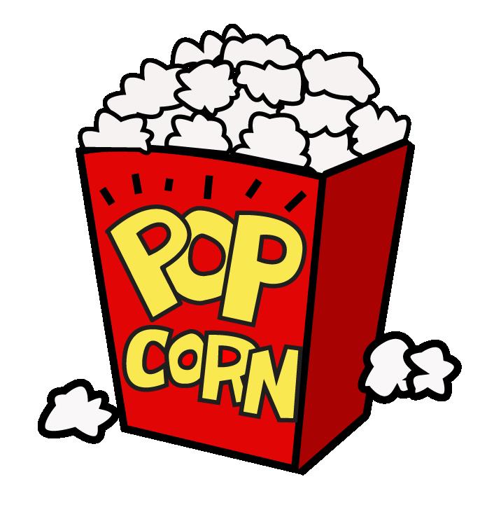 Movie Night Popcorn Clipart Free Clipart-Movie night popcorn clipart free clipart images-5