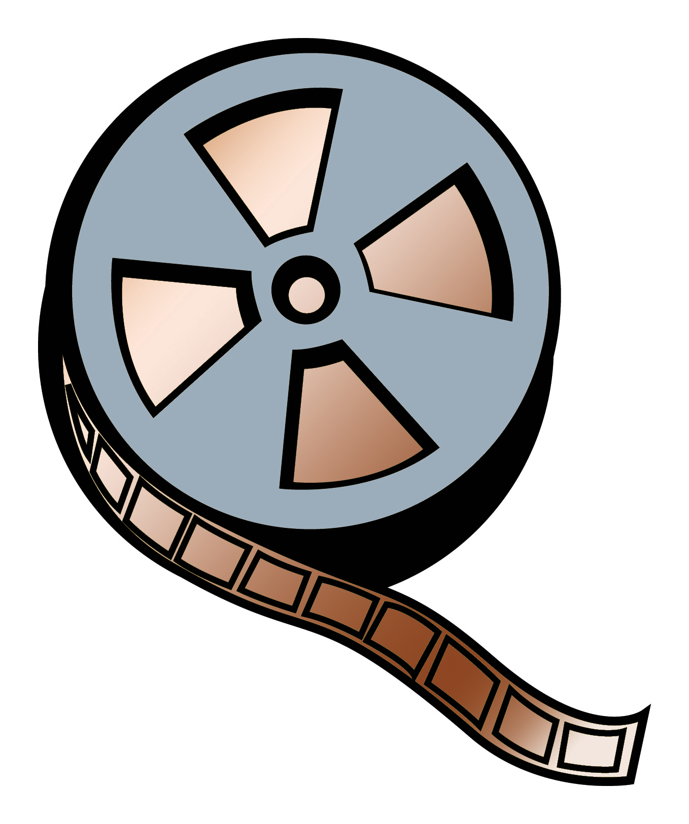 Movie Reel Clip Art - Clipart library