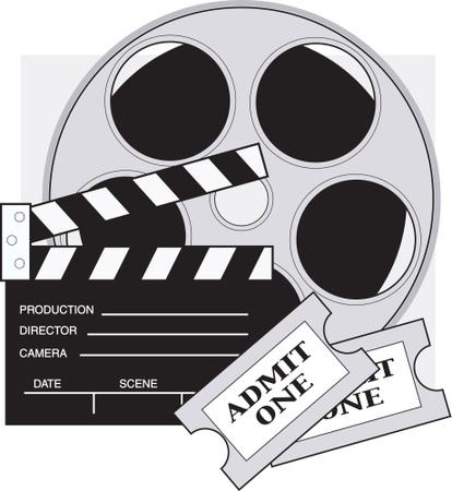 Movie Reel Film Reel Clip Art2 .-Movie reel film reel clip art2 .-13