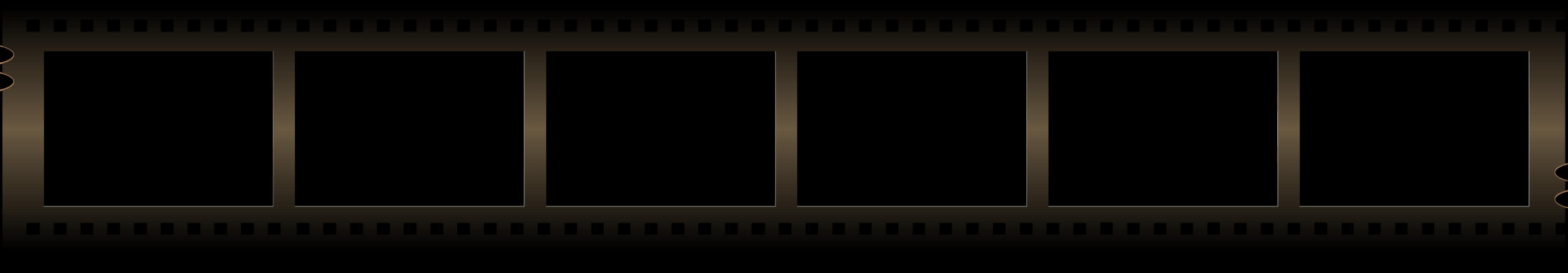 Movie reel gallery for blank film strip clip art image