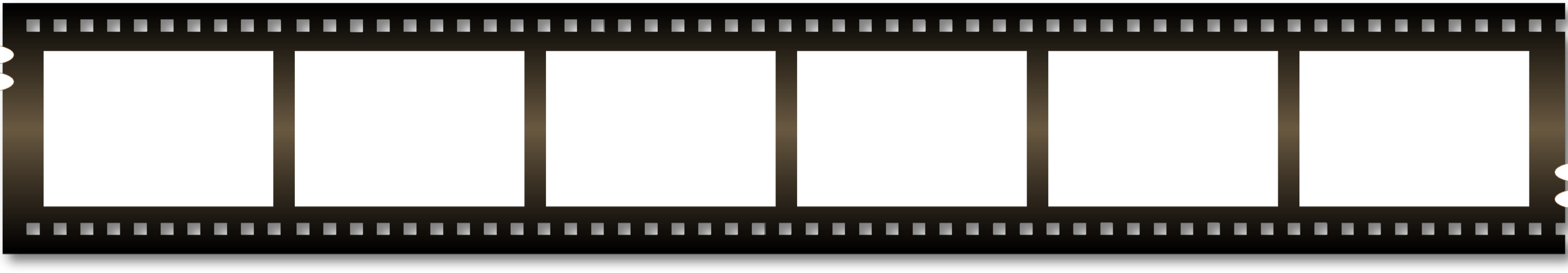 Movie reel gallery for blank film strip clip art image