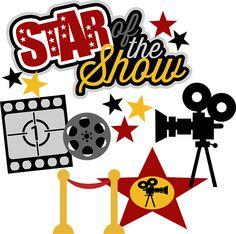 Movie Star Clip Art