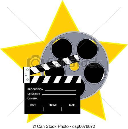Movie star clipart - .