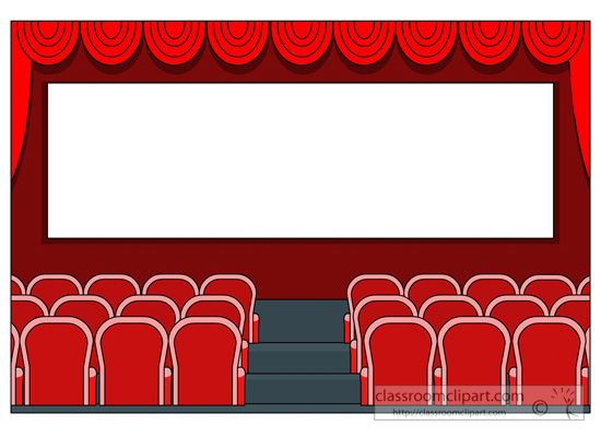 Movie theater clipart 2