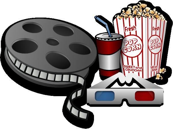 Movie Theater Items Clip Art At Clker Com Vector Clip Art Online