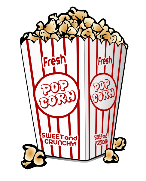 Movie Theater Popcorn Clipart Free Clipa-Movie theater popcorn clipart free clipart images 2-9