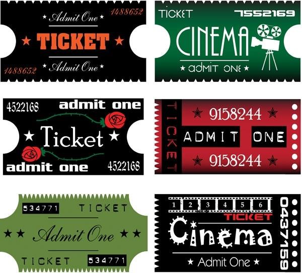 Movie Ticket Clip Art-movie ticket clip art-8