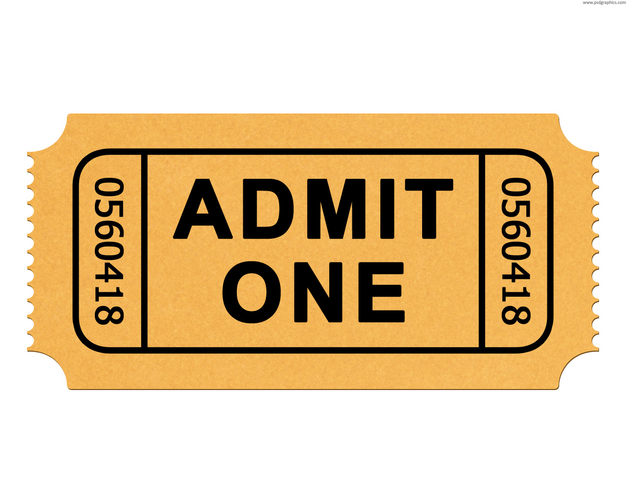 Movie ticket clipart free clipart images 4