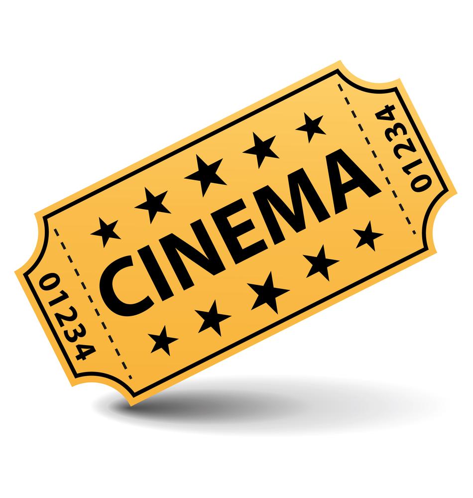 Movie Ticket Clipart . - Movie Tickets Clipart