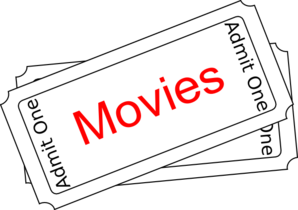 Movie tickets clipart vectors download free vector art 2 image 2 4
