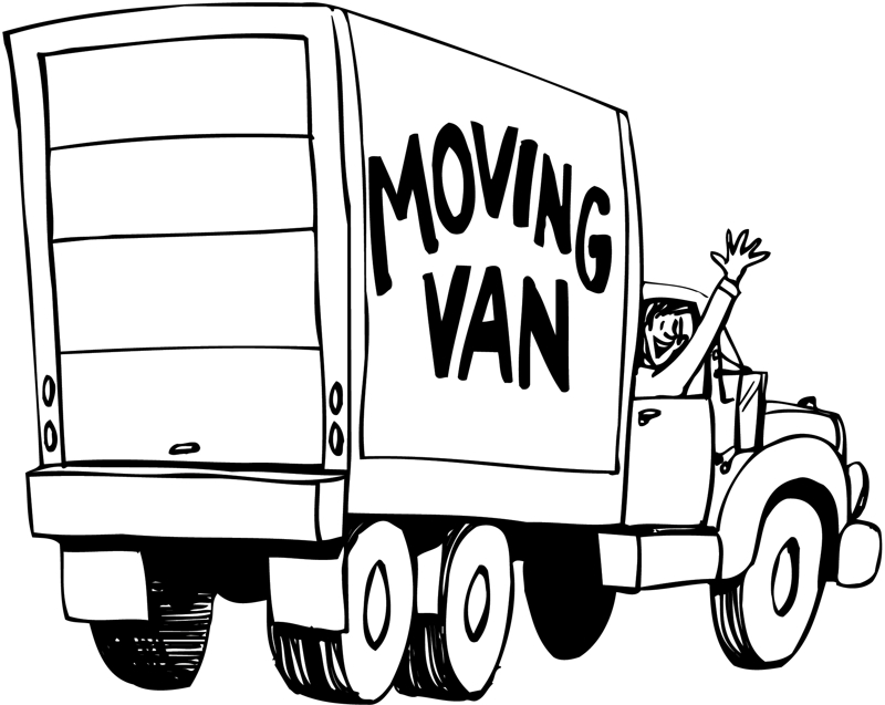 Moving Clip Art