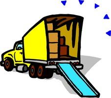 Moving Van Clipart - Clipart .