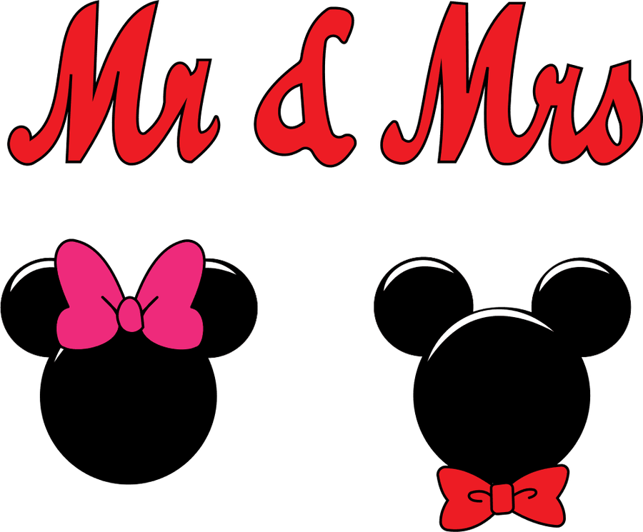 Mr And Mrs Mouse Clipart Bow .