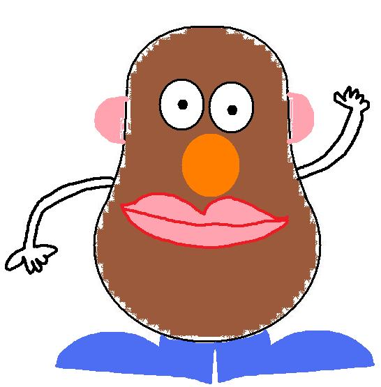 Mr Potato Head Clipart-Mr Potato Head Clipart-8