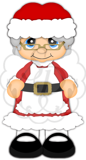 Mrs Claus Clip Art. North Pole - Clip Ar-Mrs Claus Clip Art. North Pole - Clip Art-8