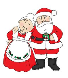 Mrs Claus Clipart Santa .-Mrs Claus Clipart Santa .-11