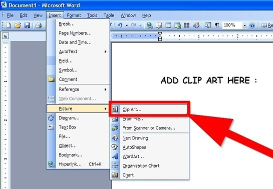 ms clipart gallery