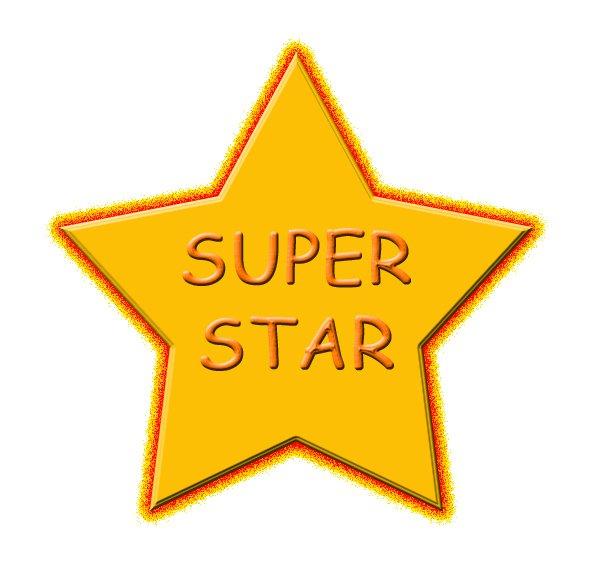 Ms Evans Super Stars - Super Star Clip Art