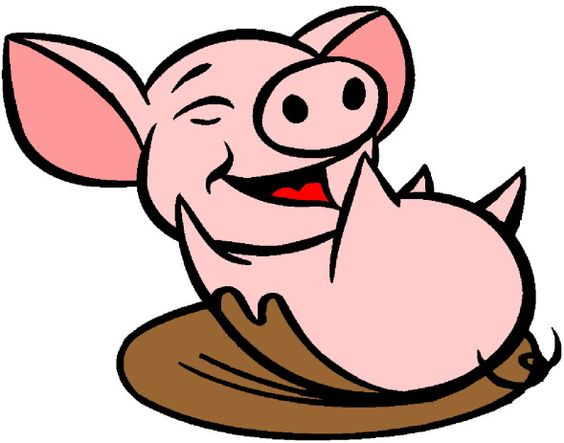 Muddy Pig Clipart | Clipart Panda - Free Clipart Images