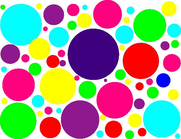 Multi Colored Polka Dots Clip Art At Clk-Multi Colored Polka Dots Clip Art At Clker Com Vector Clip Art-5