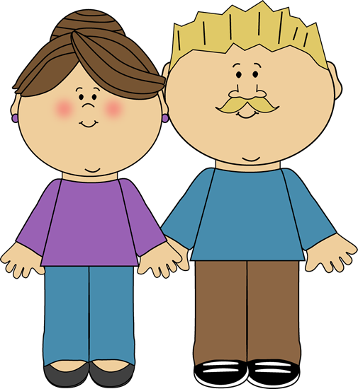 Mummy And Daddy Clip Art
