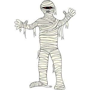 Mummy clipart free clipartall 2