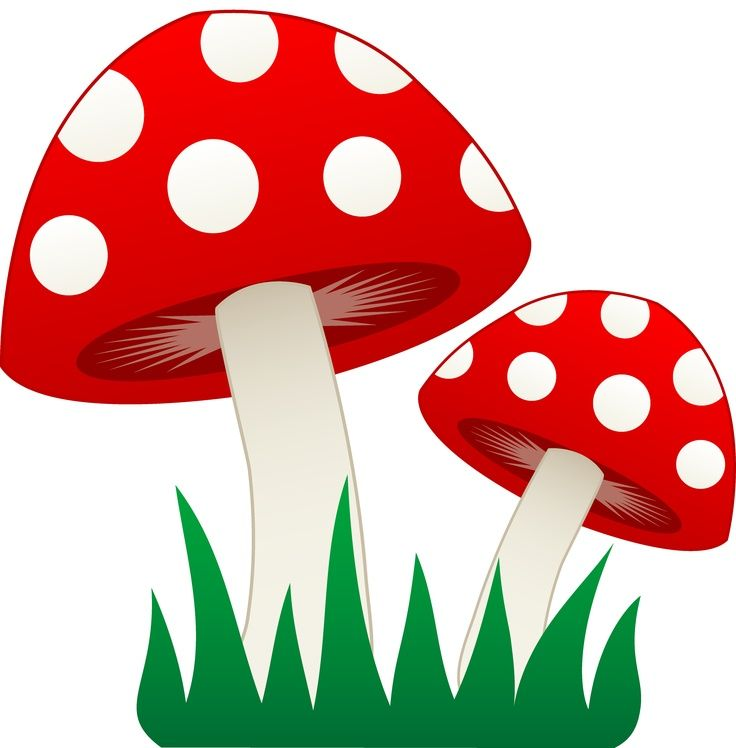 mushroom clipart | Gnome Birthday for E | Pinterest