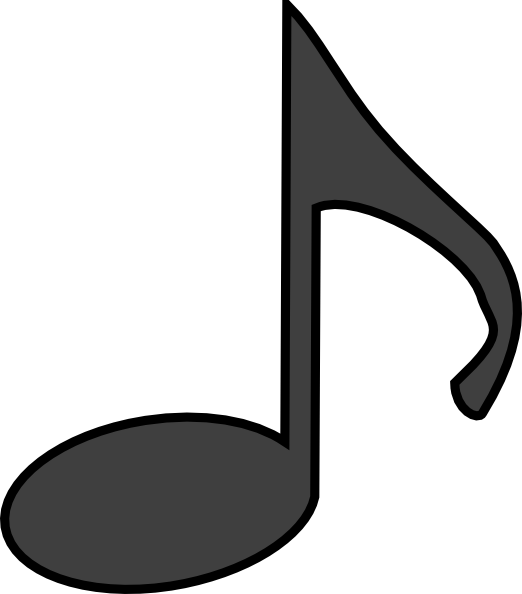 Music Note Clipart No Background-music note clipart no background-9