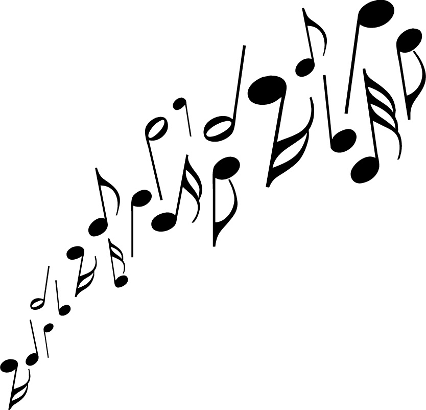 Music Notes Clipart-music notes clipart-11