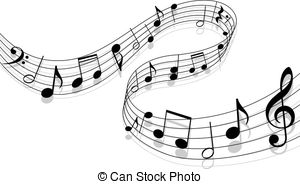 ... Music background - Notes with music -... Music background - Notes with music elements as a musical.-11