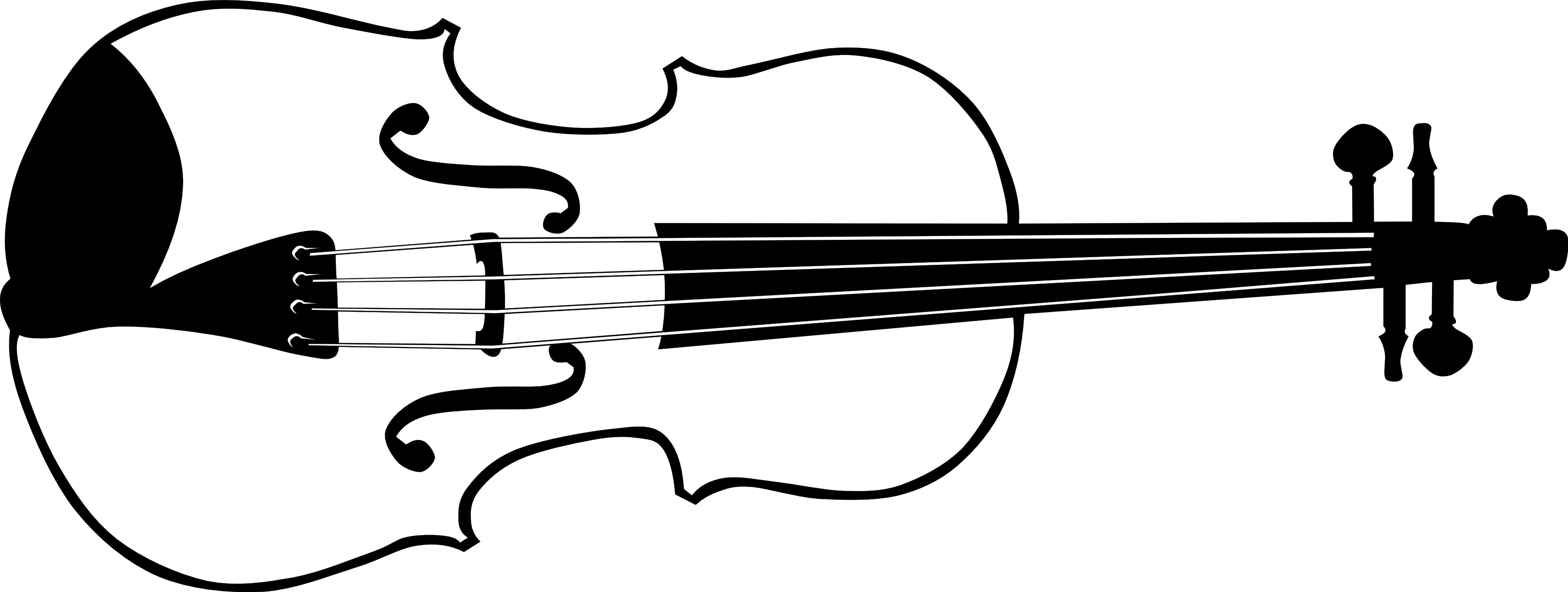 Music Clipart Black And White-music clipart black and white-11