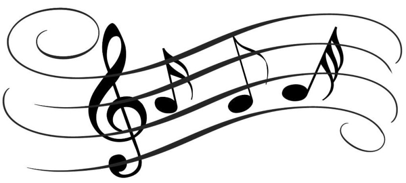 Music Clipart Black And White-music clipart black and white-12