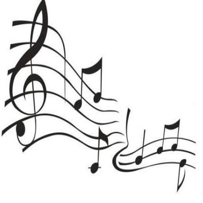 Music Clipart Black And White