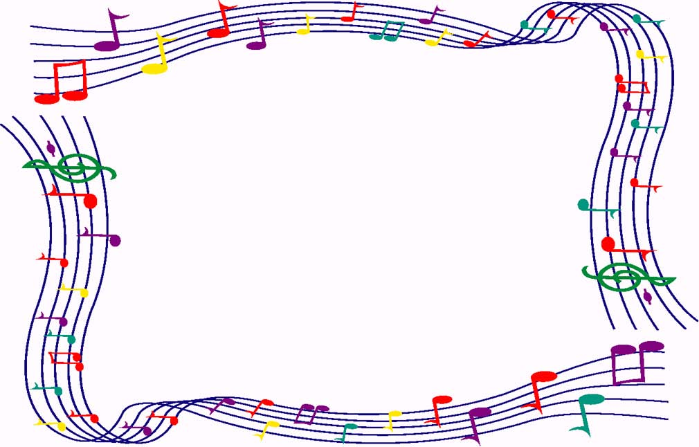 Music Clipart Borders-music clipart borders-13