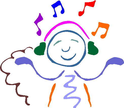 Clip Art Activities Listening To Music-Clip art Activities Listening to music-2