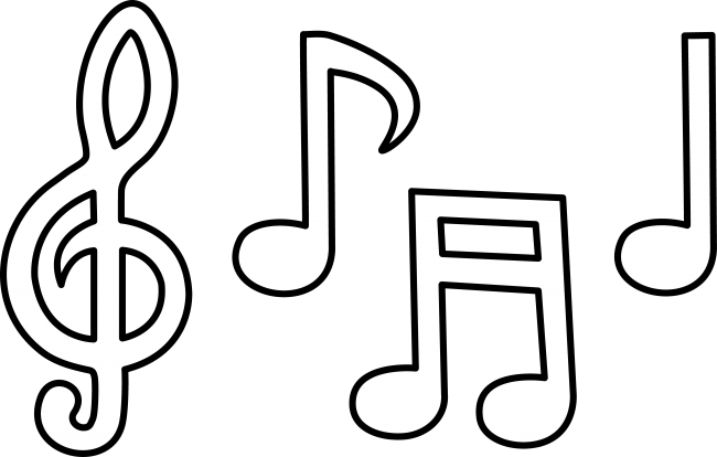 Music note clipart 2