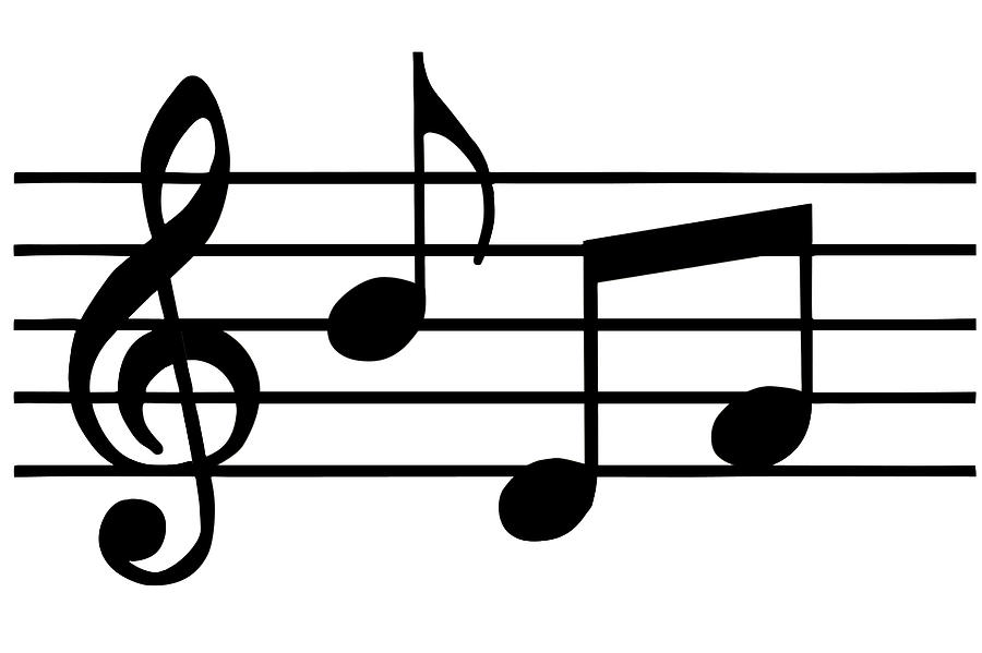 Music Notes Black And White Music Notes -Music Notes Black And White Music Notes In Black And White Comstock-18