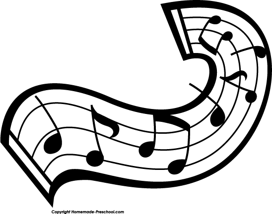 Music Notes Clipart-music notes clipart-1
