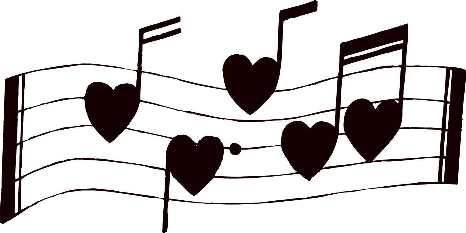 Music notes musical clip art .