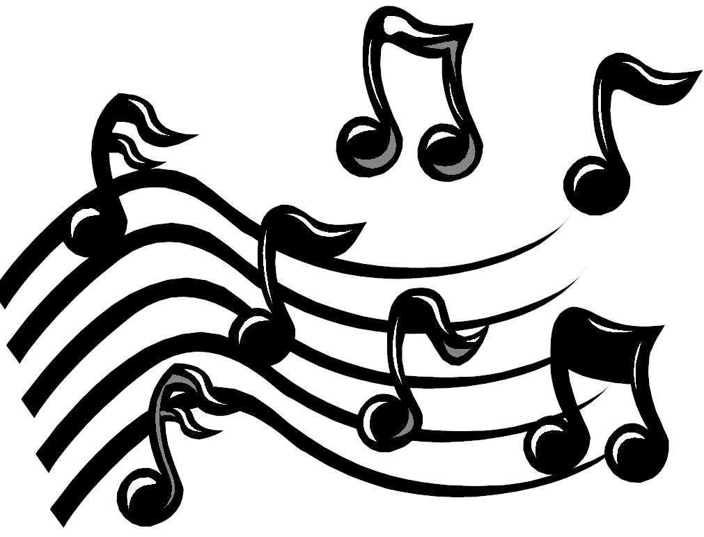 Music Notes On Staff Clipart-music notes on staff clipart-10