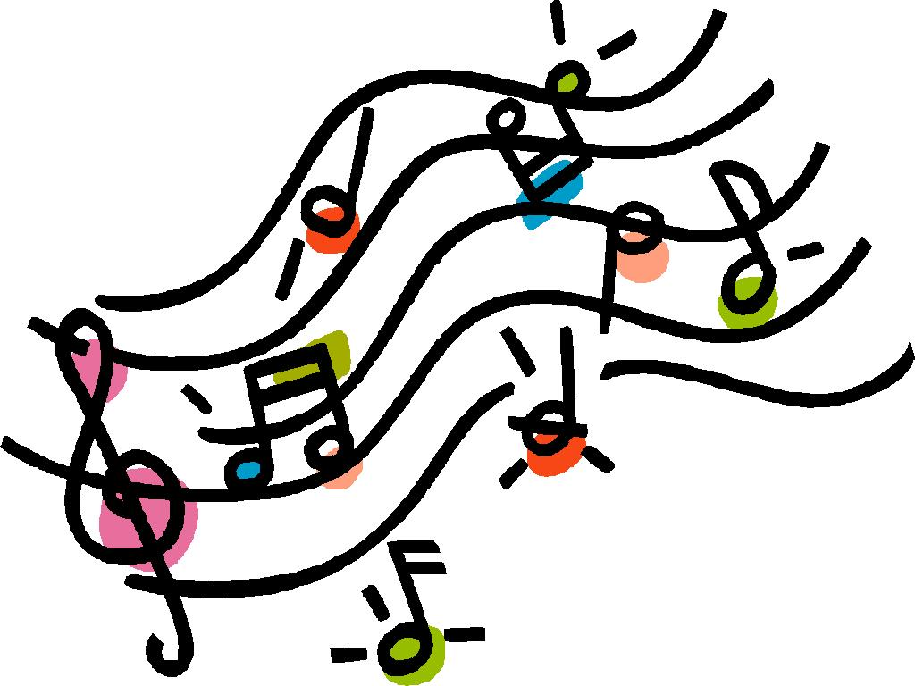 music notes on staff clipart-music notes on staff clipart-19