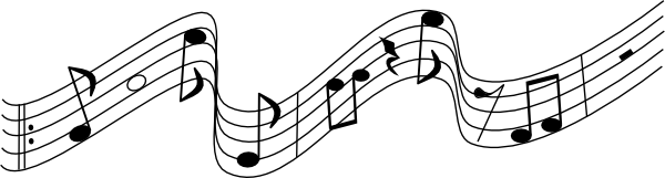 Music Staff Clipart. Music Notes On Staf-music staff clipart. music notes on staff% .-15