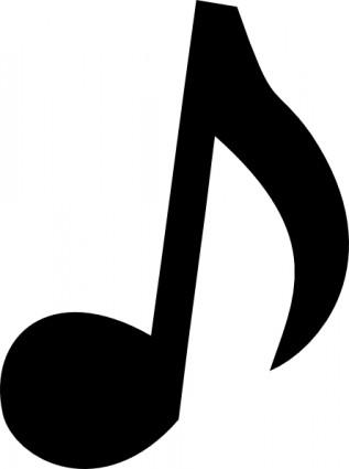 musical notes clip art transp - Musical Note Clip Art