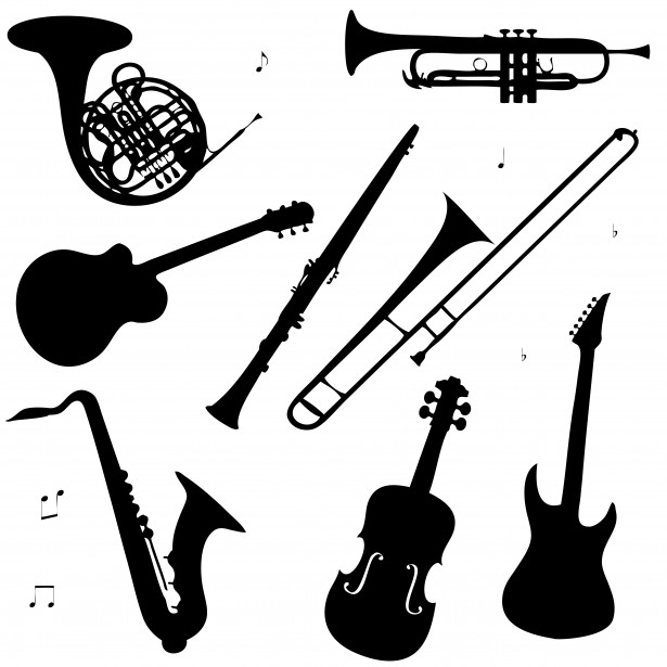 Musical Instruments Clipart .