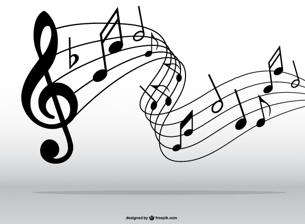 Musical Notes Symbols Clip Art 123freevectors
