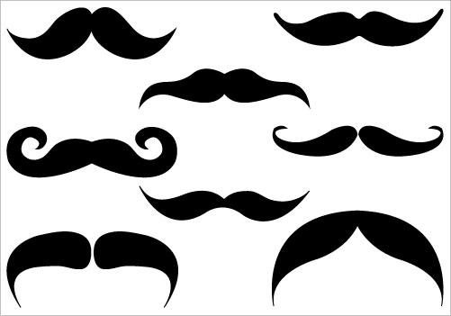 Mustache Clipart-mustache clipart-10