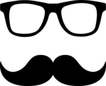 Mustache Clip Art #1483
