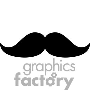 Mustache Clip Art Photos Vector Clipart Royalty Free Images 1