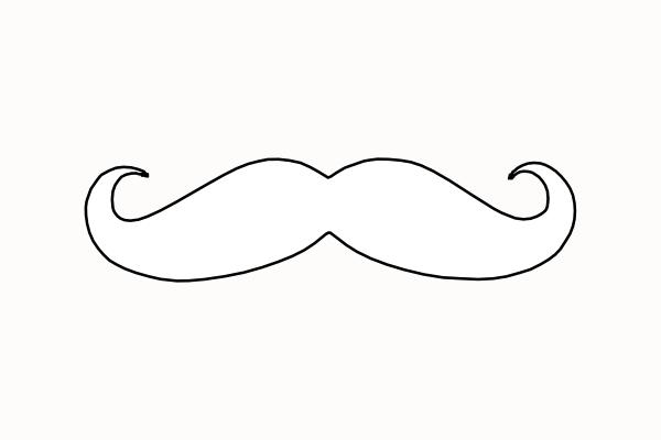 ... Mustache clip art - vector clip art online, royalty free u0026amp; public .