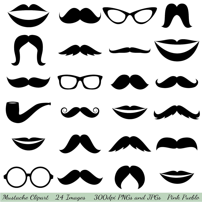 Mustache Clipart Clip Art Glasses Clipar-Mustache Clipart Clip Art Glasses Clipart Clip Art By Pinkpueblo-5
